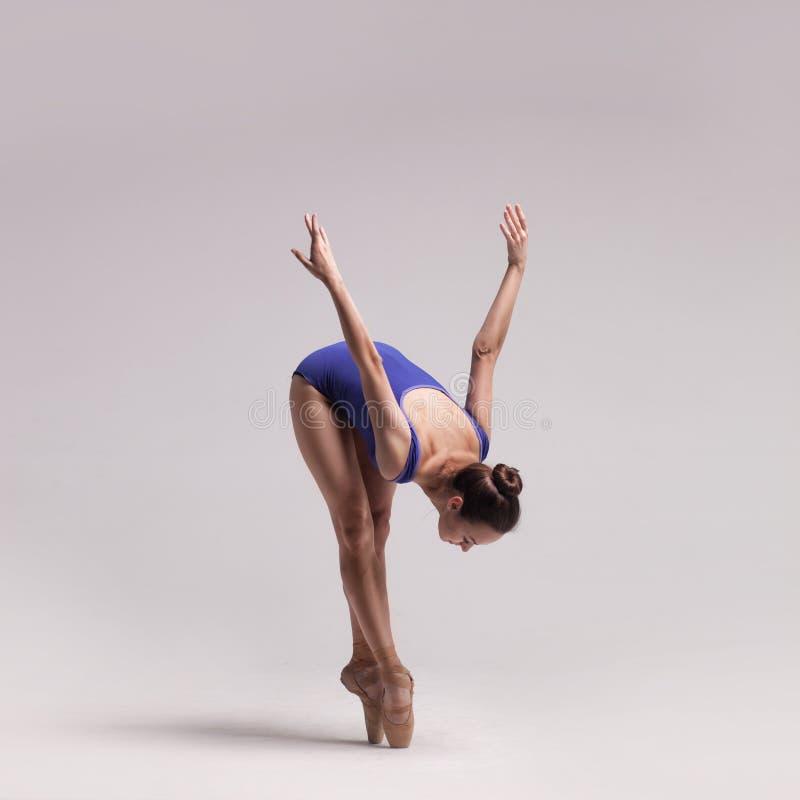 Beau danseur classique d'isolement image libre de droits
