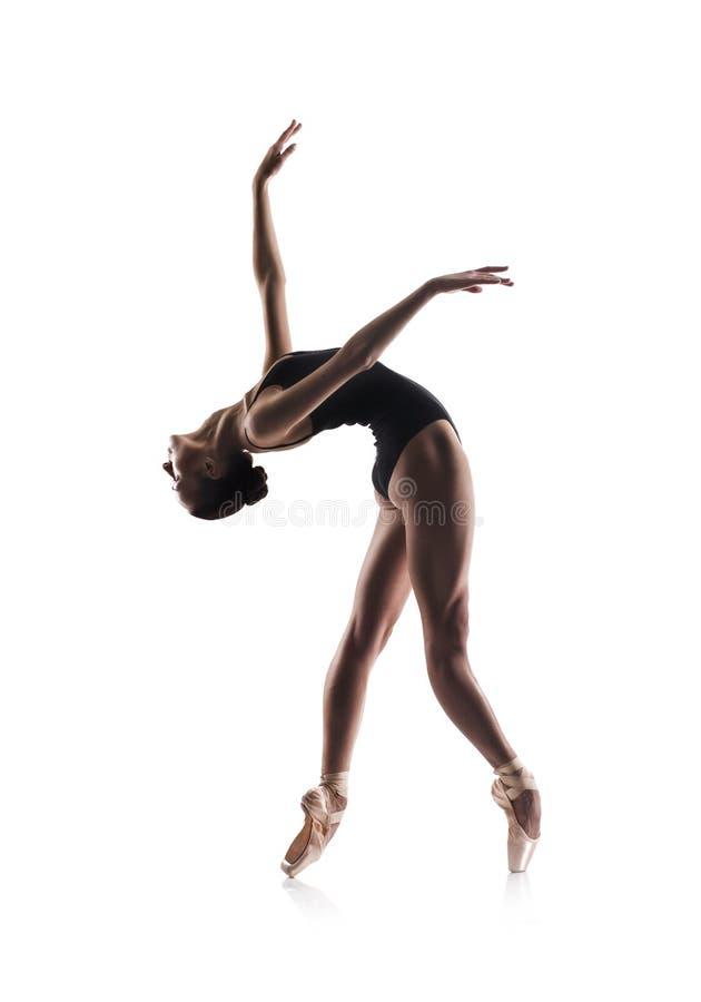 Beau danseur classique d'isolement photo libre de droits