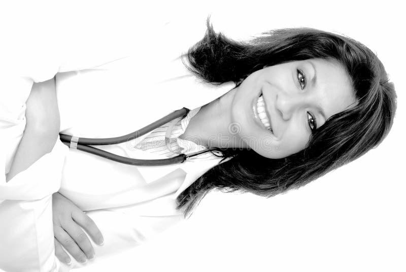 Beau docteur de Latina image libre de droits