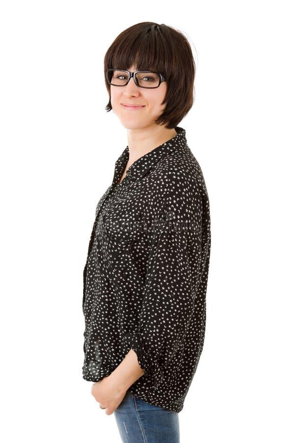 Download Beau femme photo stock. Image du adulte, amusement, closeup - 87702678