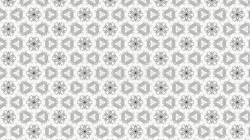 Beau fond élégant clair de conception de l'industrie graphique d'illustration de Grey Decorative Wallpaper Pattern Graphic illustration de vecteur