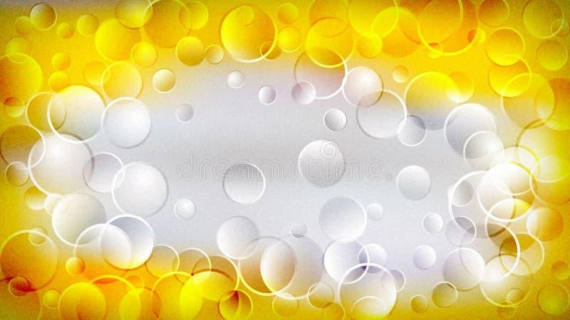 Beau fond élégant clair jaune de conception de l'industrie graphique d'illustration de papier peint illustration stock