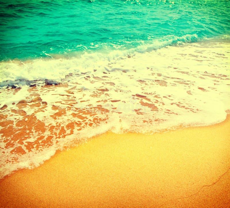 Beau fond d'abrégé sur été de mer photo stock