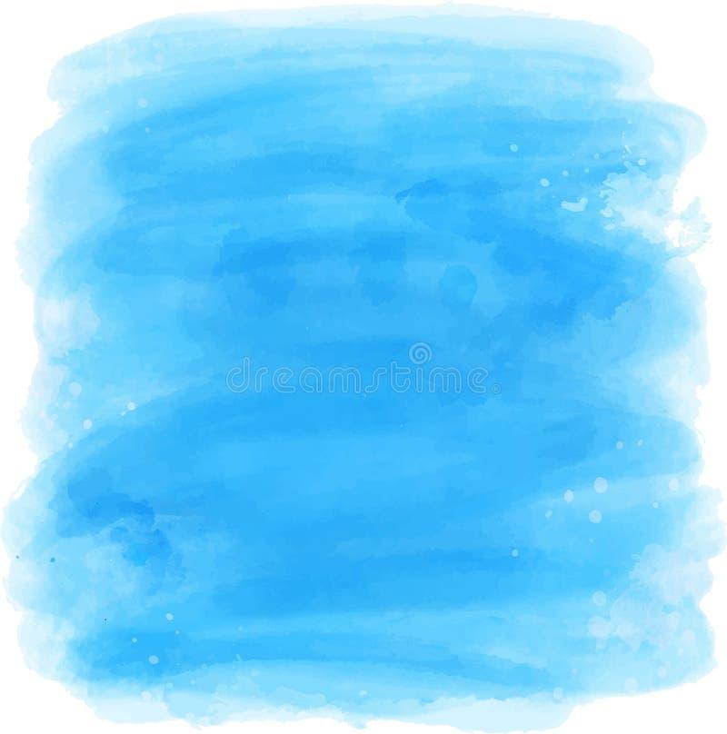 Beau fond d'aquarelle illustration libre de droits