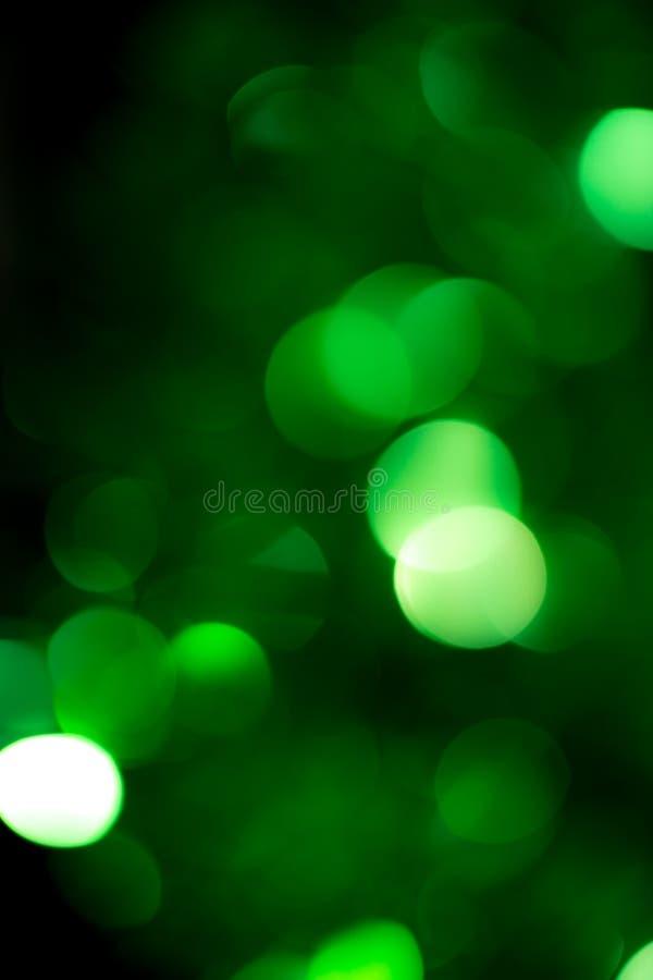 Beau fond de vacances de bokeh vert images libres de droits
