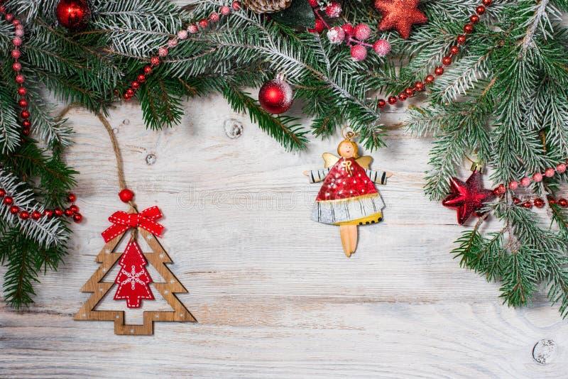 Beau fond pour la nouvelle année et le Noël photographie stock libre de droits