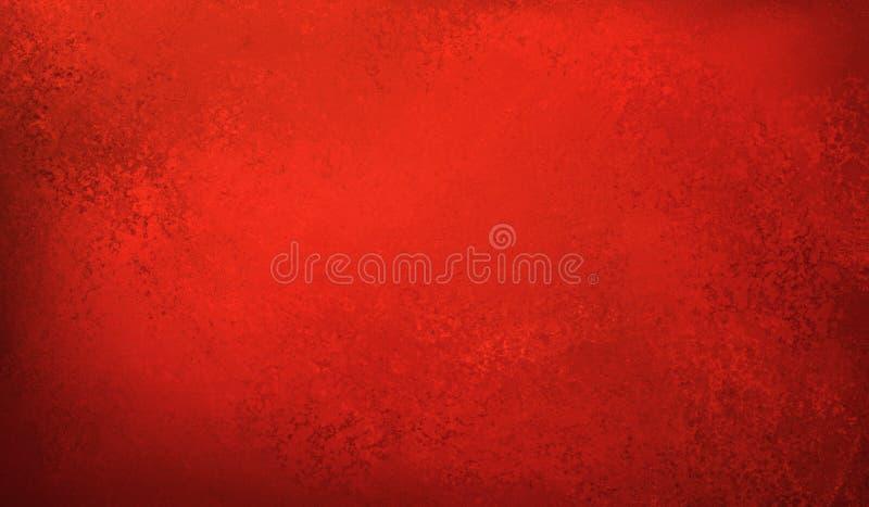 Beau fond rouge avec la texture, le Noël de vintage ou la conception de style de jour de valentines, fond rouge de papier peint photographie stock