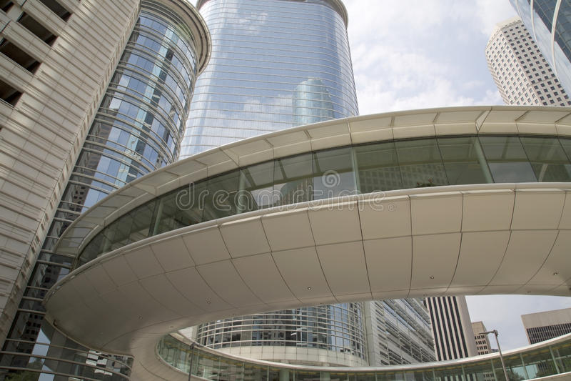 Beau Houston du centre photos libres de droits