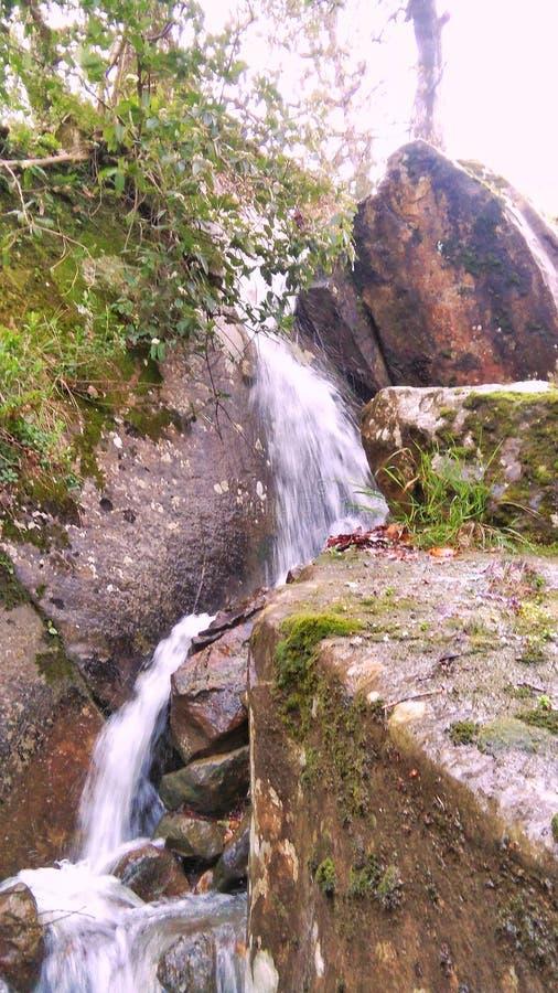 Beau jijel de cascade photos stock