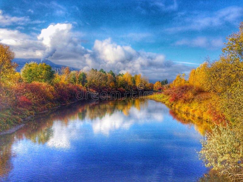 Beau jour d'automne photographie stock libre de droits