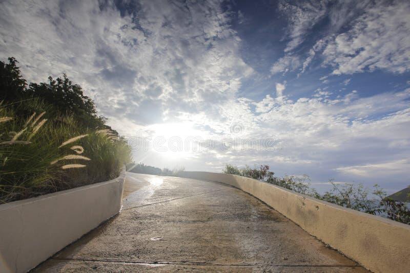 Beau jour sur une île des Caraïbes photo libre de droits