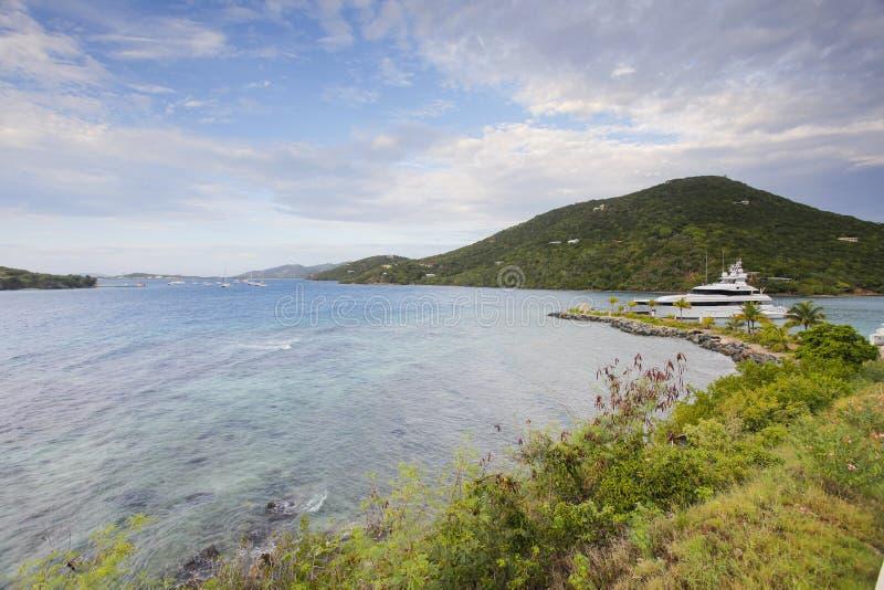 Beau jour sur une île des Caraïbes photographie stock libre de droits