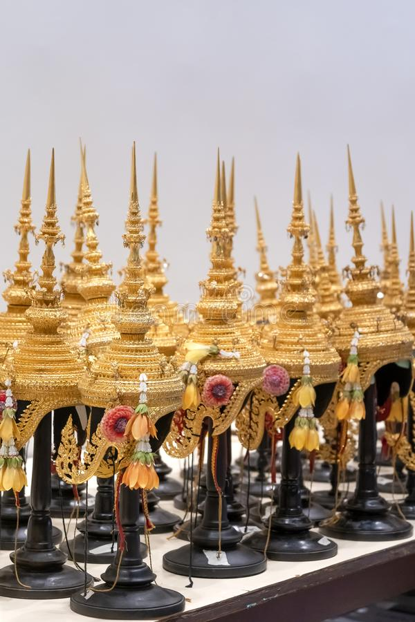 Beau Khon masque l'épopée de Ramayana photos stock