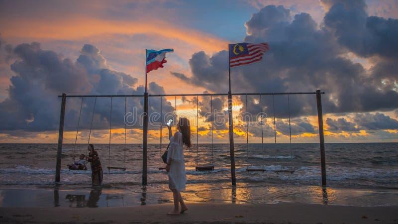 Beau Kota Kinabalu photographie stock libre de droits