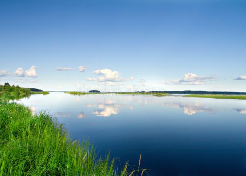 beau lac photographie stock libre de droits