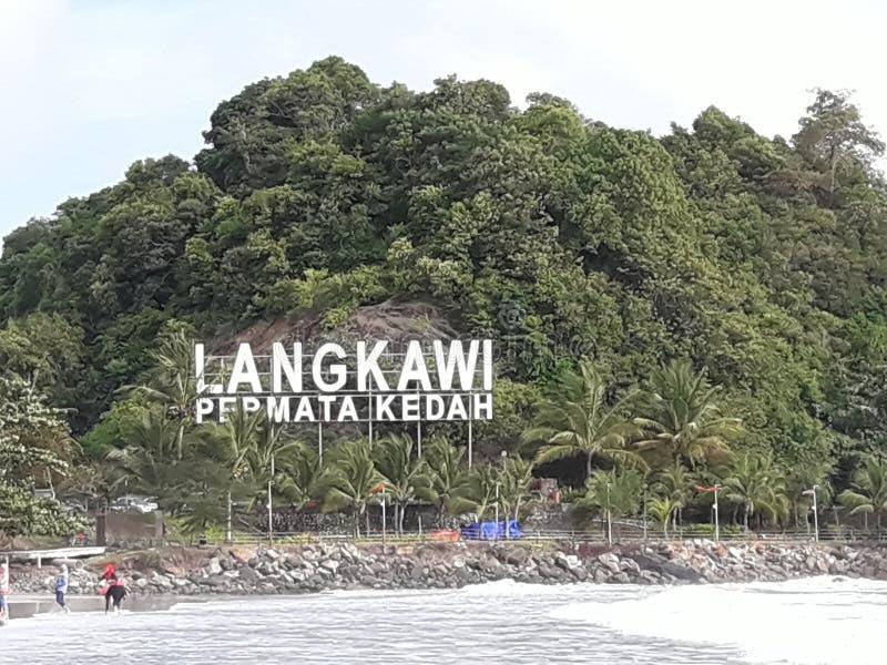 Beau Langkawi images libres de droits