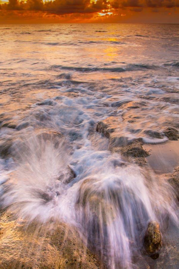 beau lever de soleil en Floride photos libres de droits