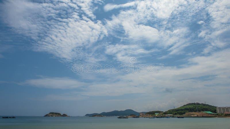 Beau littoral de Weihai photographie stock libre de droits