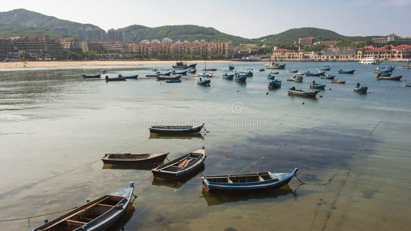 Beau littoral de Weihai images libres de droits