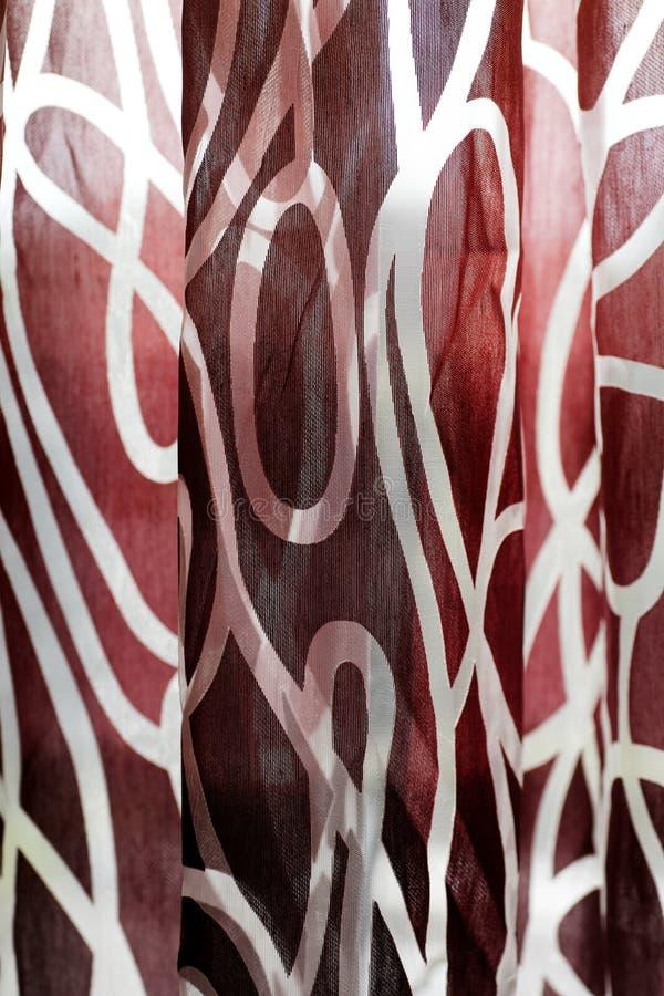Beau macro fond coloré d'abrégé sur rideau de haute qualité photographie stock