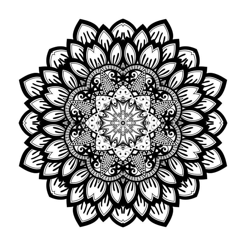 Download Beau Mandala De Noir De Deco De Vecteur Illustration de Vecteur - Illustration du éléments, graphisme: 56482401
