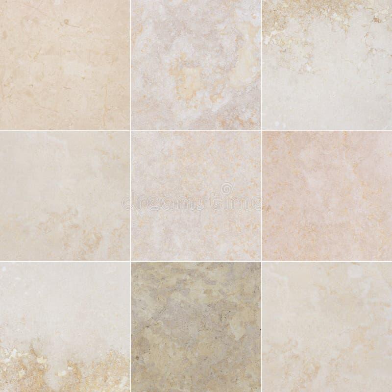 Beau marbre neuf qualitatif différent Marbre avec le modèle abstrait naturel image stock