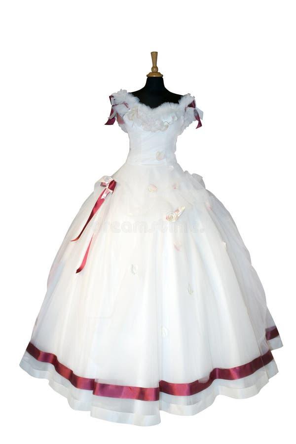 beau mariage de robe photos libres de droits