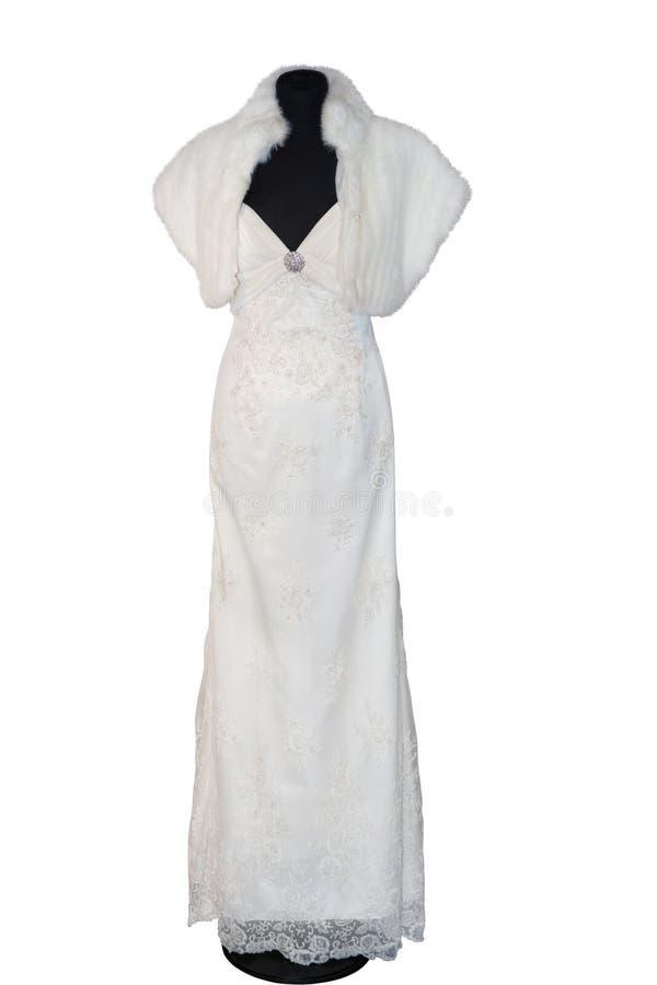 beau mariage de robe photographie stock libre de droits
