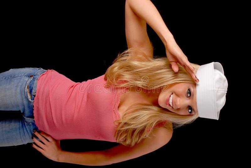 Beau marin blond photos libres de droits