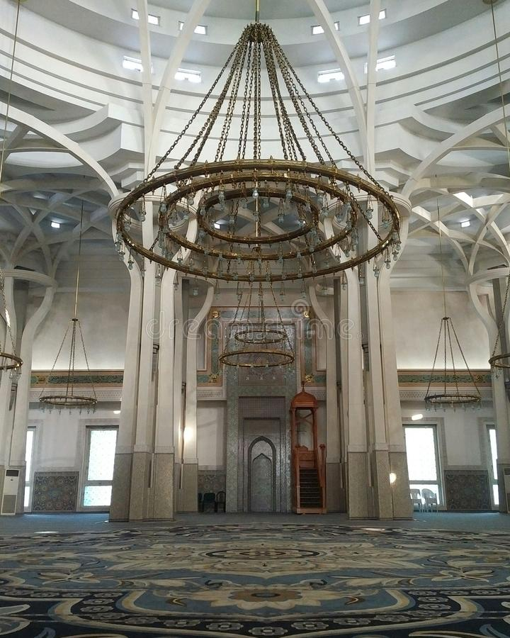 Beau Masjids photographie stock libre de droits