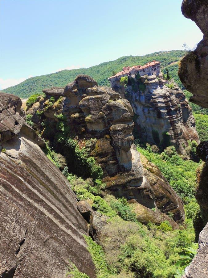 beau meteora Grèce de monastère photographie stock