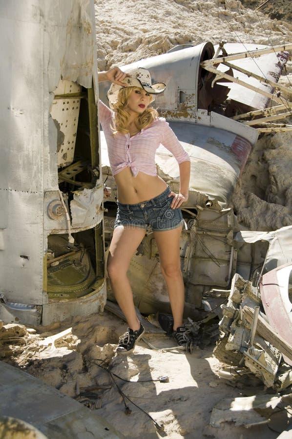 Beau modèle blond photos stock