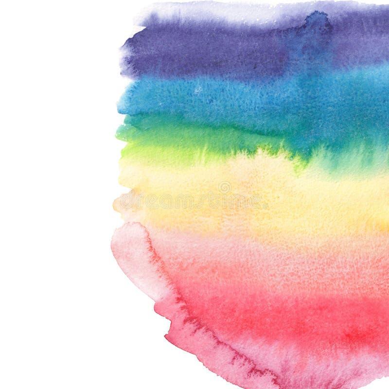Beau modèle coloré graphique élégant magnifique merveilleux sophistiqué abstrait d'arc-en-ciel illustration stock