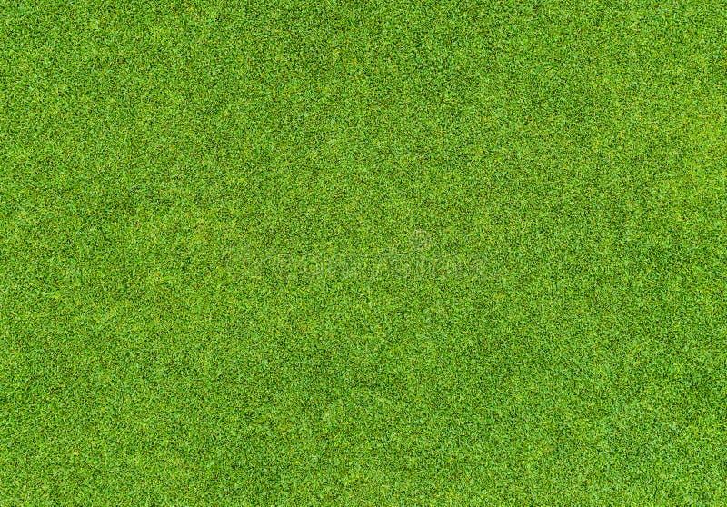 Beau modèle d'herbe verte de terrain de golf photo libre de droits