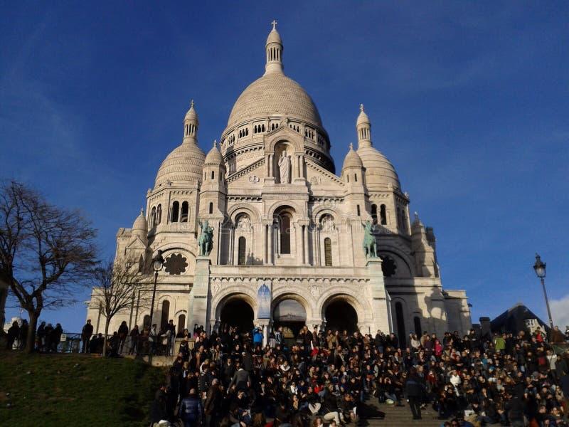 Beau Montmartre image libre de droits