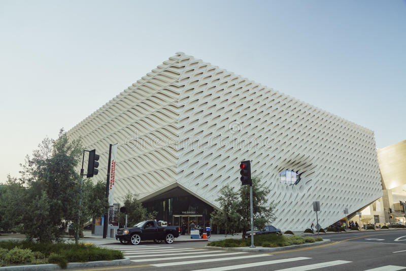 Beau musée - le large image stock