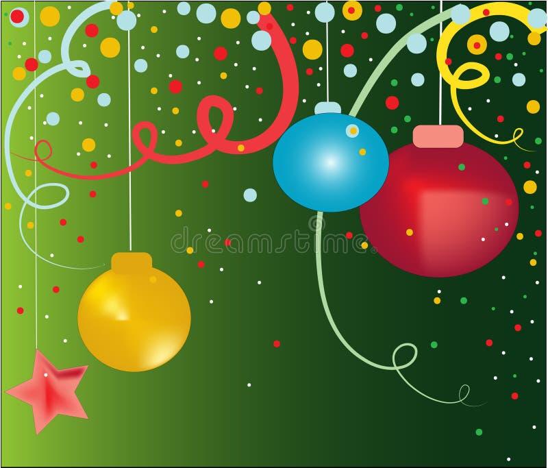 Beau Noël illustration libre de droits