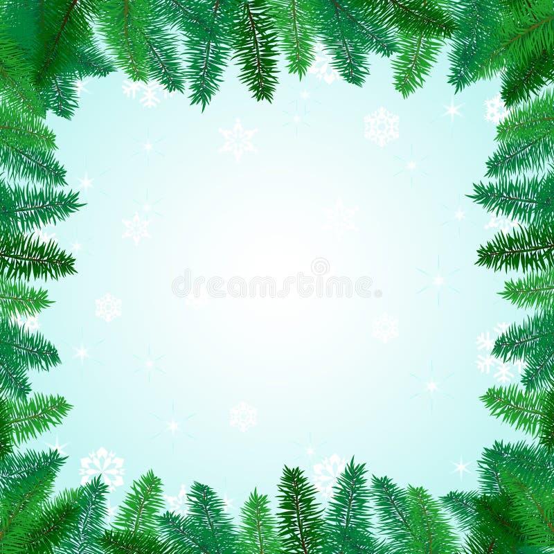 Beau Noël de carte photo libre de droits
