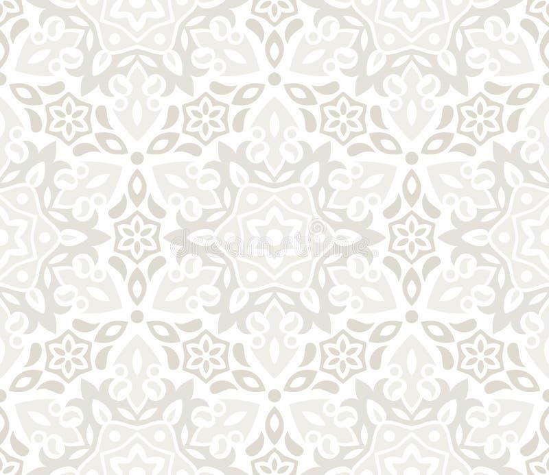 beau papier peint floral illustration de vecteur. Black Bedroom Furniture Sets. Home Design Ideas