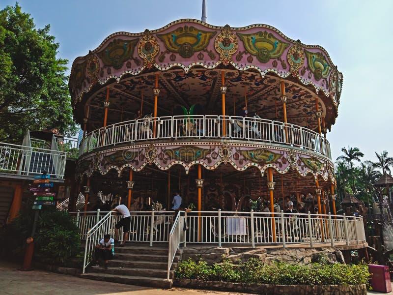 Beau parc d'attractions de ville de Shenzhen photo stock