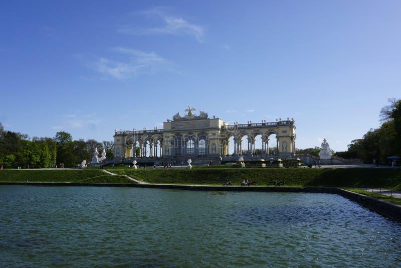 Beau pavillon Glorietta en Autriche image stock