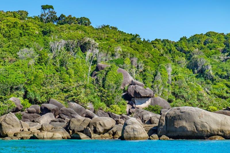 Download Beau Paysage, île De Similan, Thaïlande Photo stock - Image du voyage, andaman: 77161782