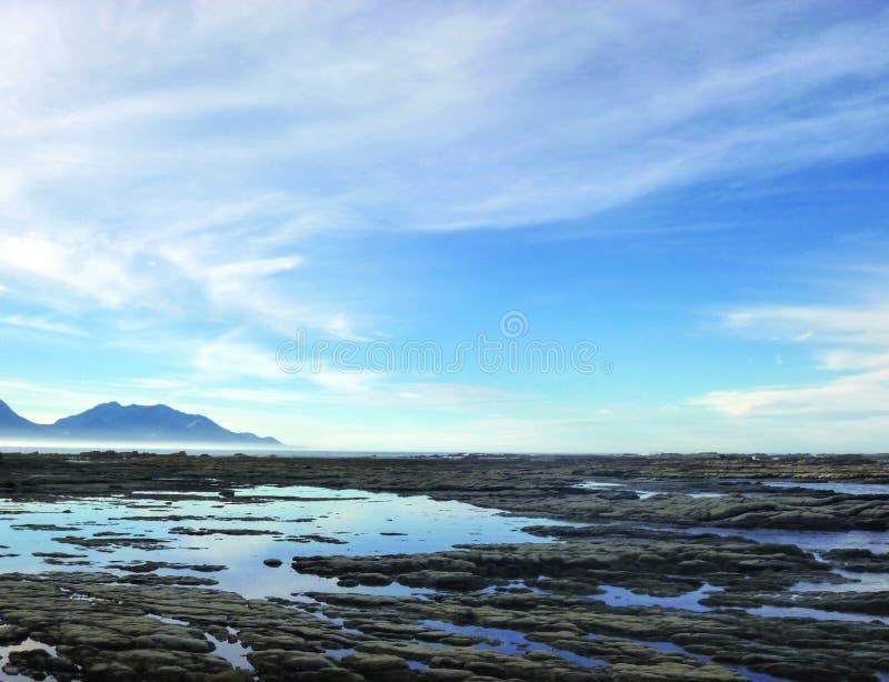 Beau paysage dans Kaikoura, Nouvelle-Zélande photo libre de droits