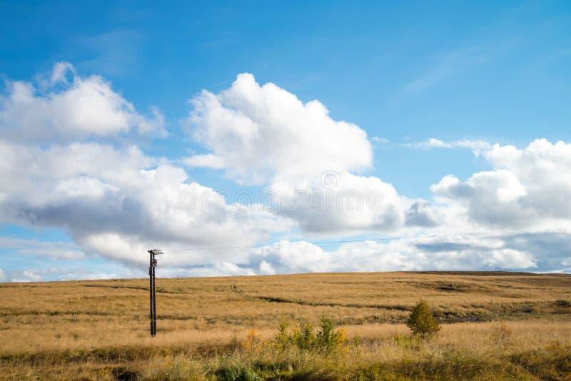 Beau paysage de campagne près de cascade de godafoss, Islande image stock