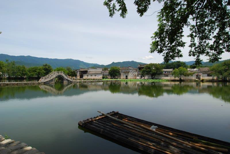 Beau paysage de Hong Village en Chine photos stock