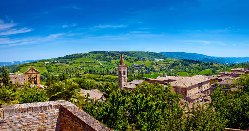 Download Beau paysage de Toscane image stock. Image du italien - 77161645