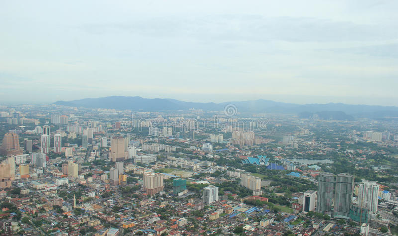 Beau paysage de ville de Guangzhou, Chine photos stock