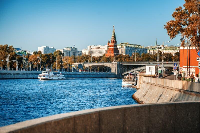 Beau paysage de ville, la capitale de la Russie, Moscou Une vue image libre de droits