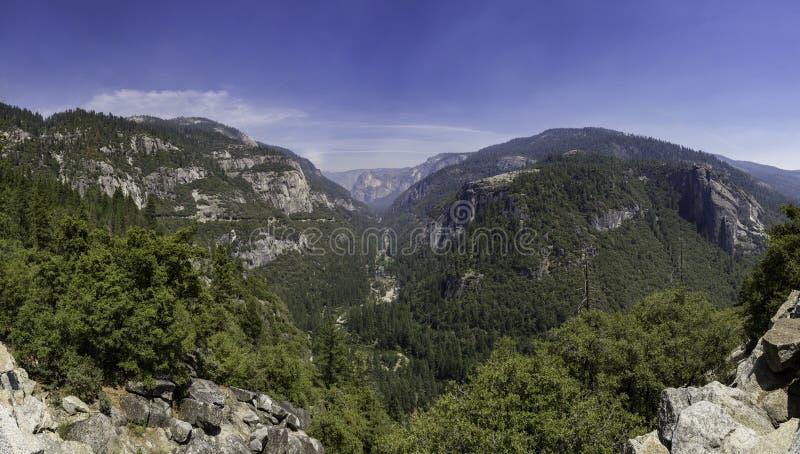Beau paysage de Yosemite images stock