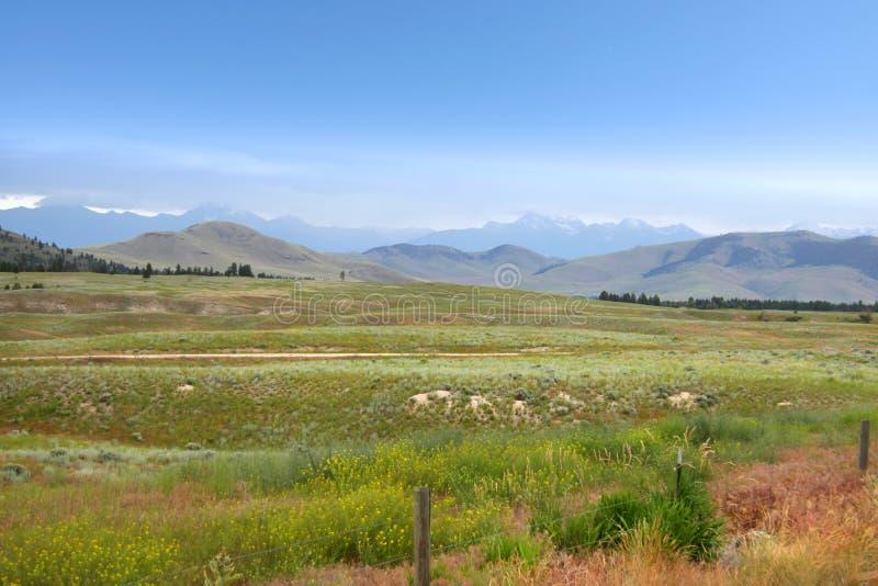 Beau paysage du Montana image libre de droits